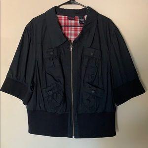 Torrid short sleeve jacket